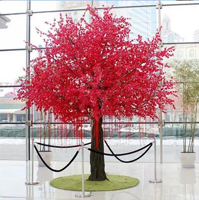 室内仿真桃花树