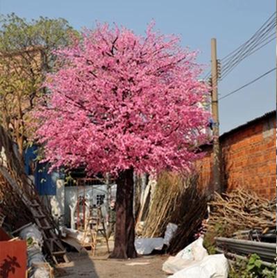 桃花树仿真