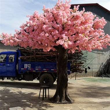 庭院仿真樱花树