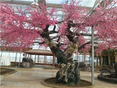 仿真水泥桃树
