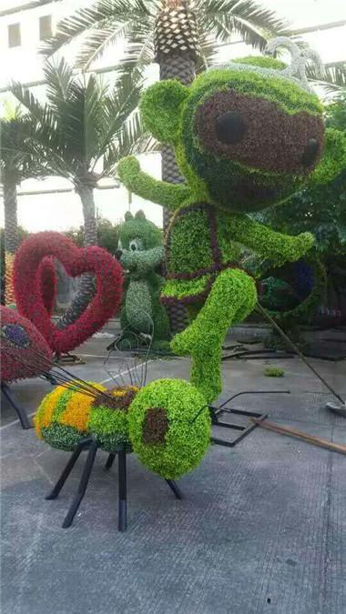 园区植物雕塑