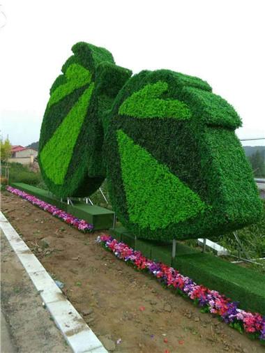 小区植物雕塑