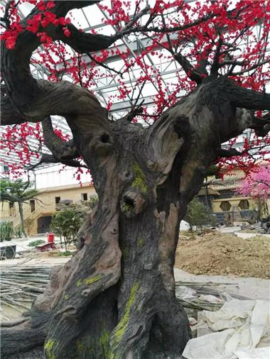 园区水泥树