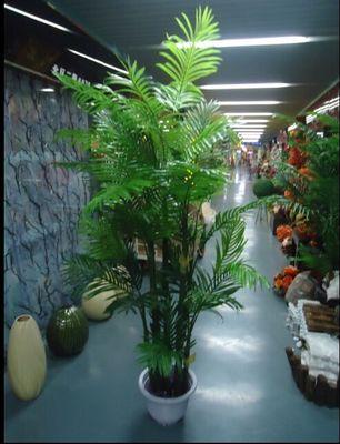 仿真盆栽散尾葵