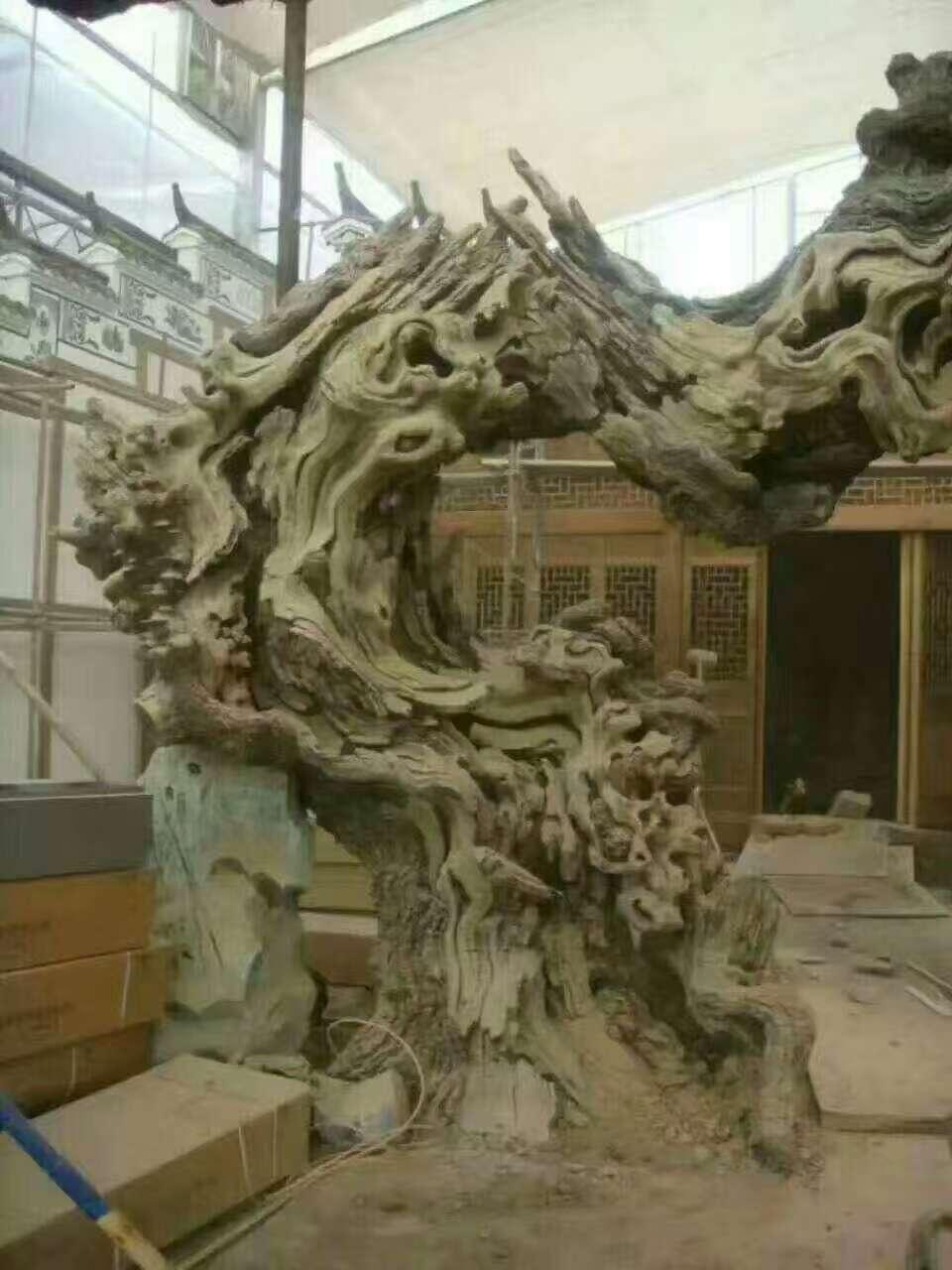仿真造景树雕