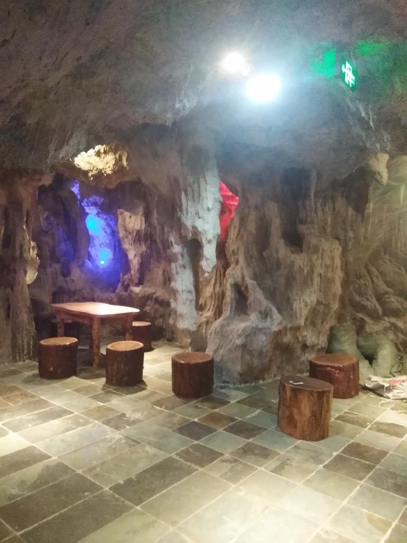 仿真造景石洞