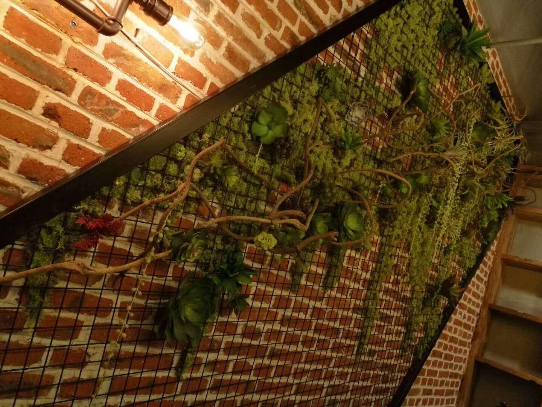 绿植铁网墙
