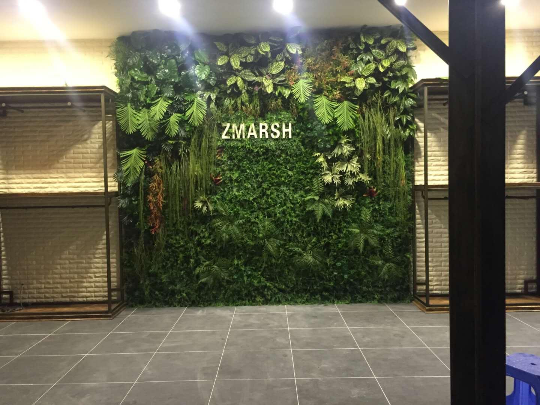 绿植墙一面墙