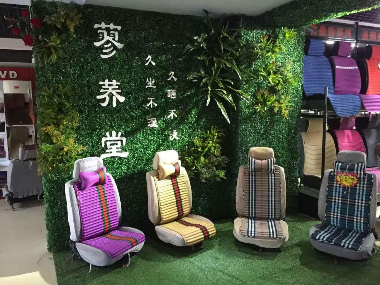 休闲场所绿植墙