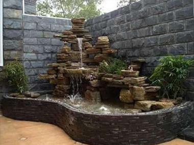 庭院喷泉假山