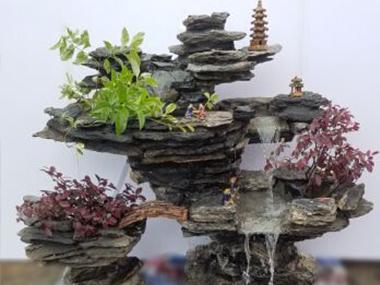 小型真石假山