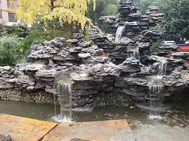 真石假山流水
