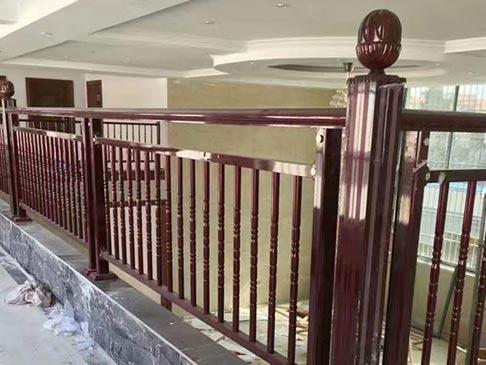 阳台护栏喷涂