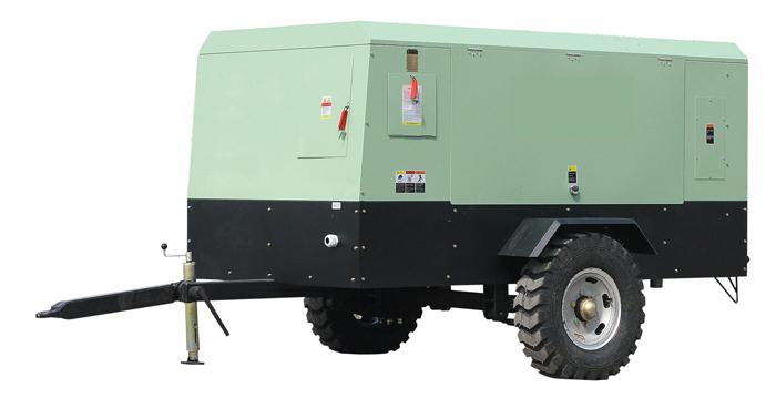 昆明空压机出租租赁-电动移动式螺杆空压机
