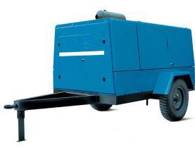 昆明柴油移动式螺杆空压机
