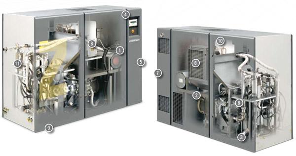 昆明空压机出租租赁-大型水冷风冷空压机