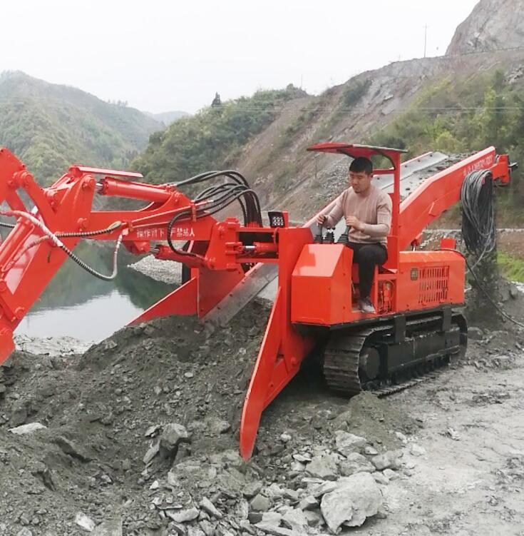 小型打山洞机器扒渣机多少钱 扒渣机80参数 2万左右扒渣机图片