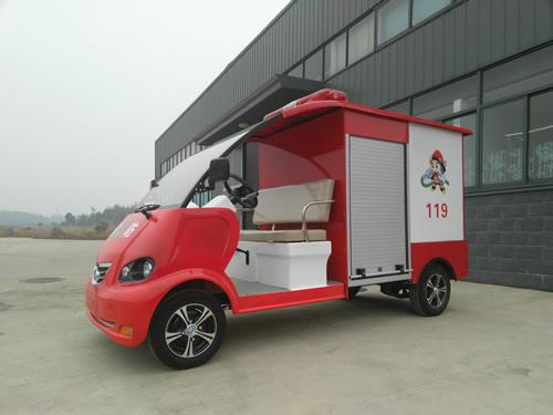 陕西电动消防车2座