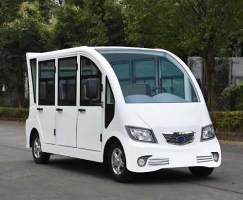 封闭式电动观光车6-8座-交流60V