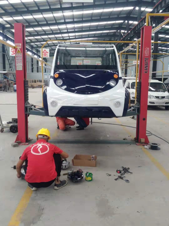 杨凌中石龙电动车辆有限公司——现场制造加工安装中