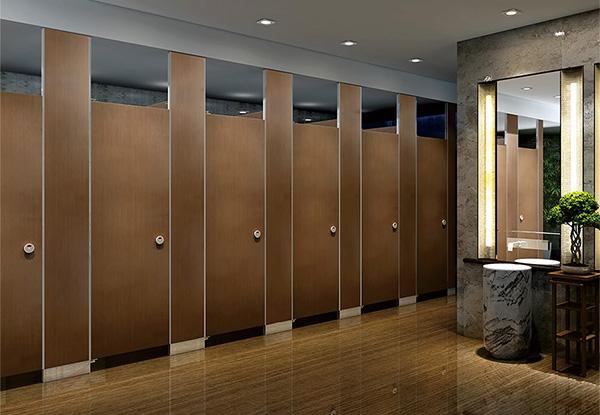 常见的两种卫生间隔断分离方式