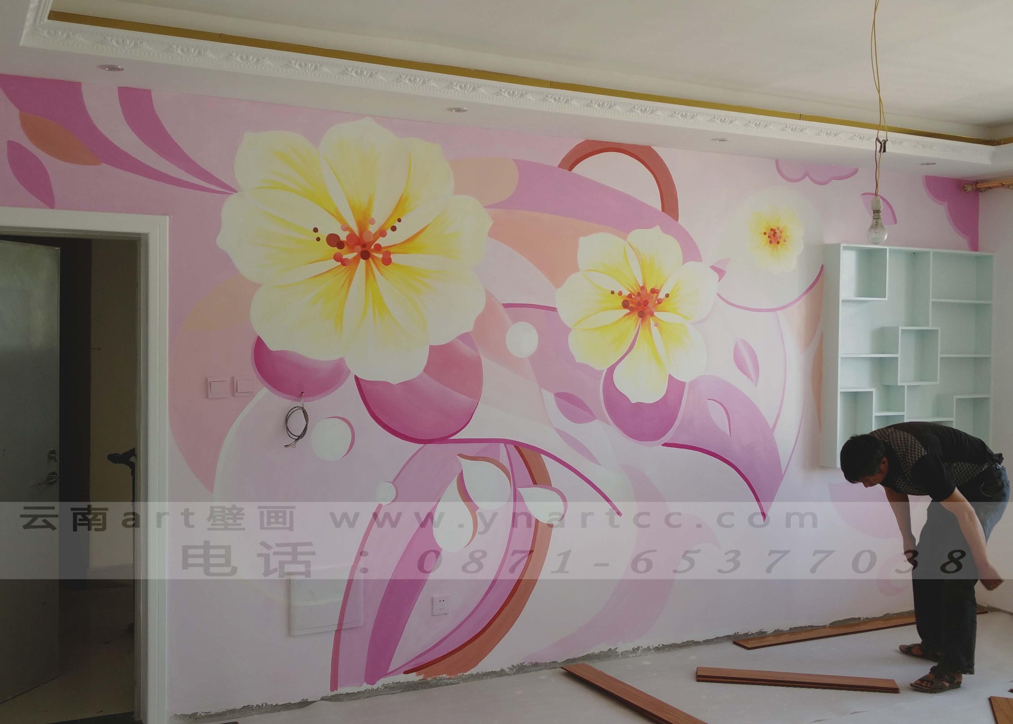 昆明手绘墙画的流程分析