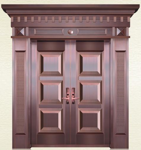 富贵三宝铜门-型号AS-6013