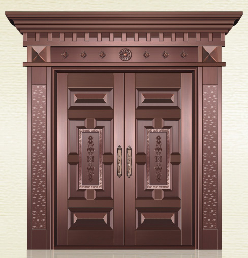 出入平安铜门 型号:AS-6027