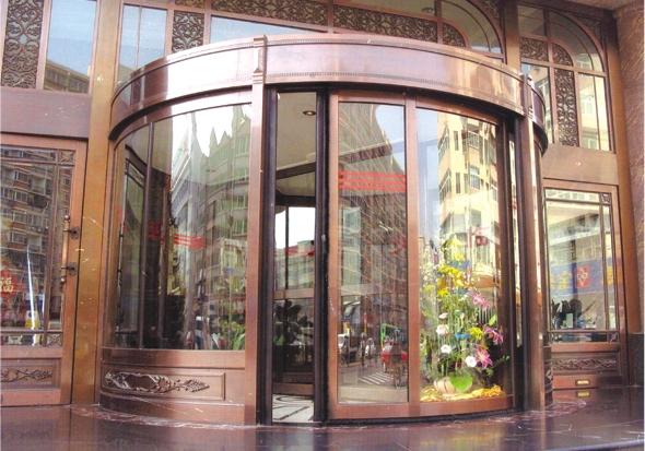 写字楼铜门工程案例介绍