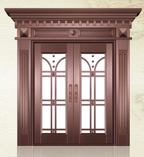 月满西楼铜门  型号:AS-6078