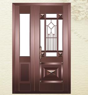 贵族世家铜门  型号:AS-6080-AS-6083