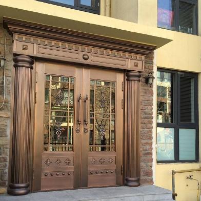 铜门和纯铜门的区别