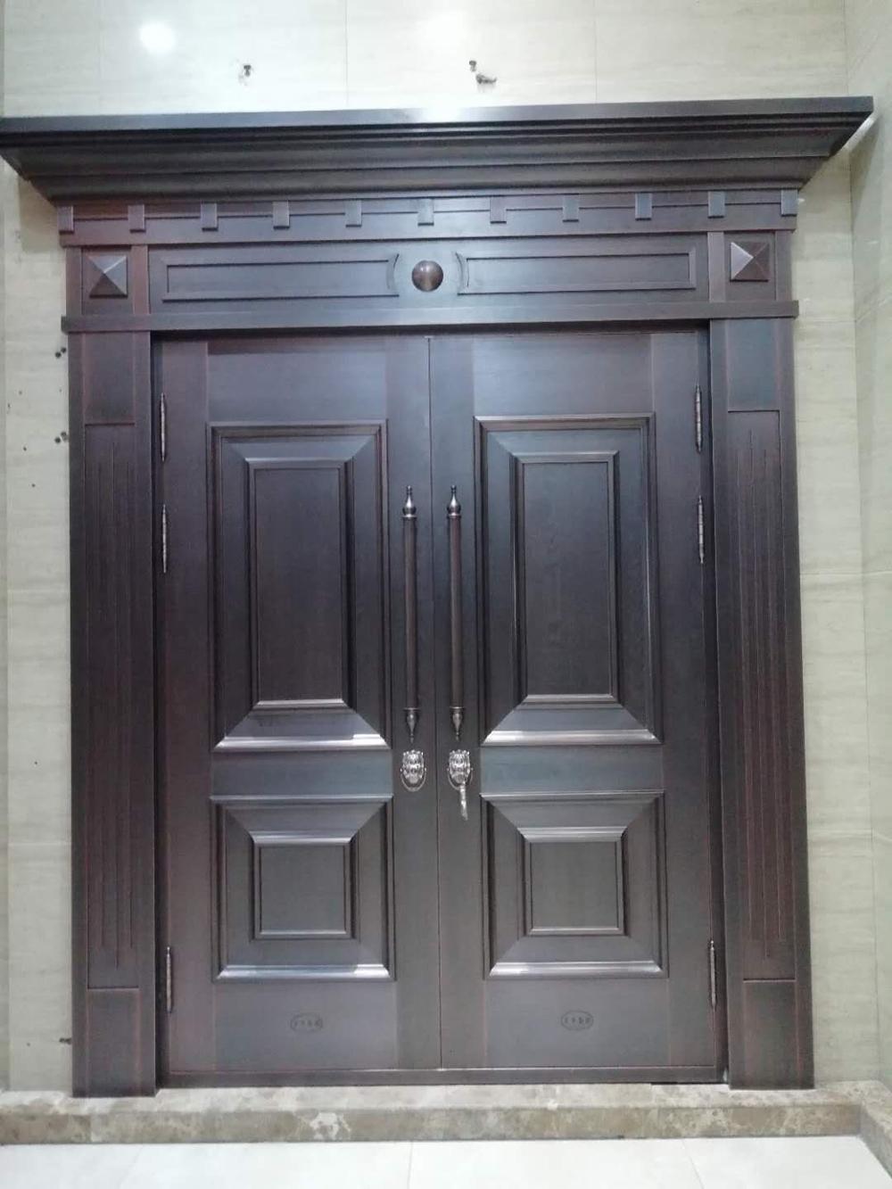 庭院住宅铜门工程案例介绍