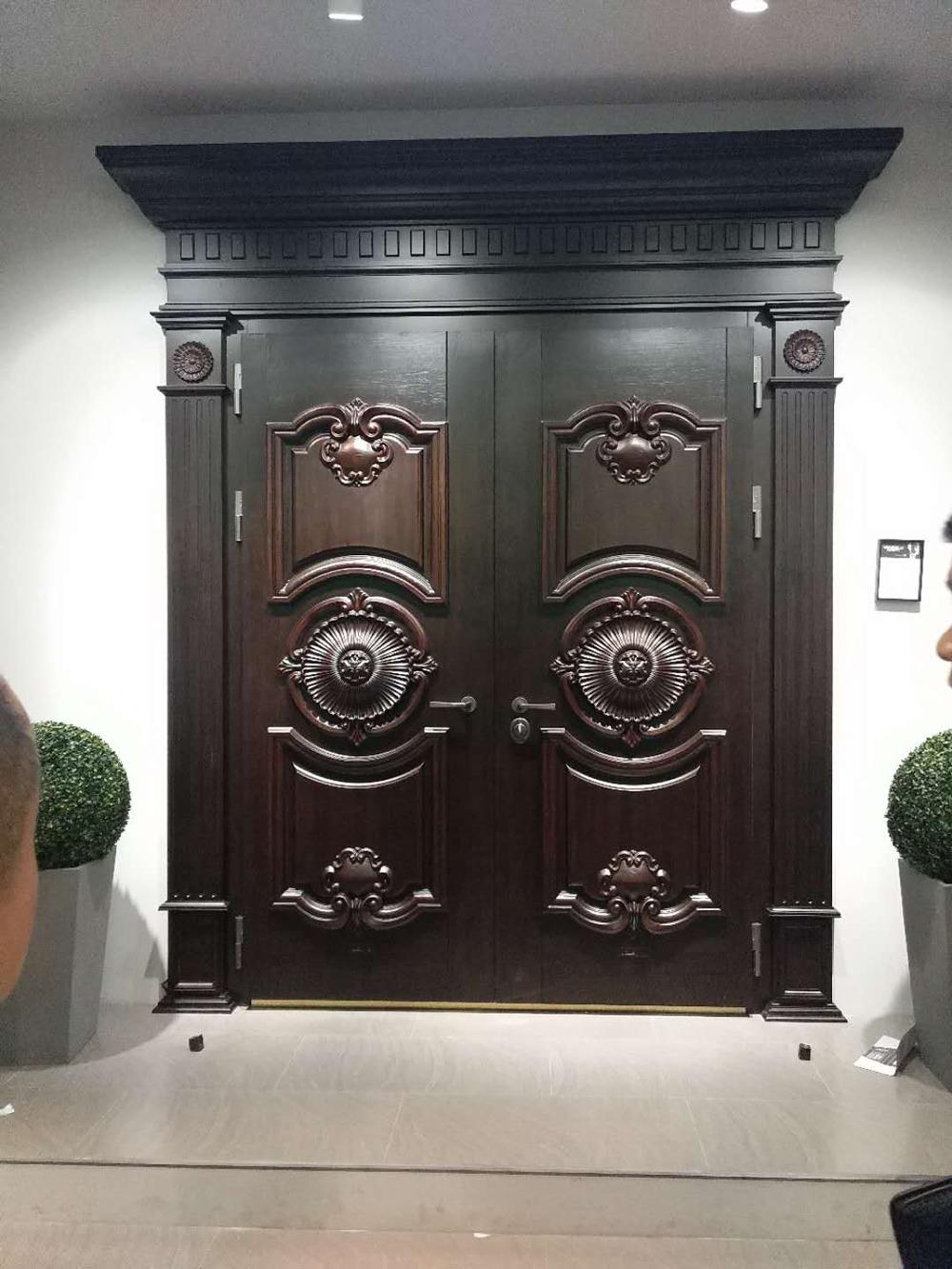 铸铝门保养方法