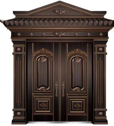 别墅铜门漆工艺及几种检测方法