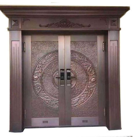 别墅铜门和铜装饰的优点有哪些