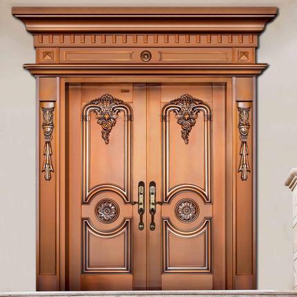 别墅铜门的性能特点及受欢迎的原因