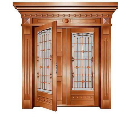 别墅铜门定制要多少钱?要注意什么事项?
