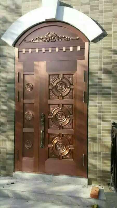 云南铜门厂家在生产铜门时应该注意哪些问题?
