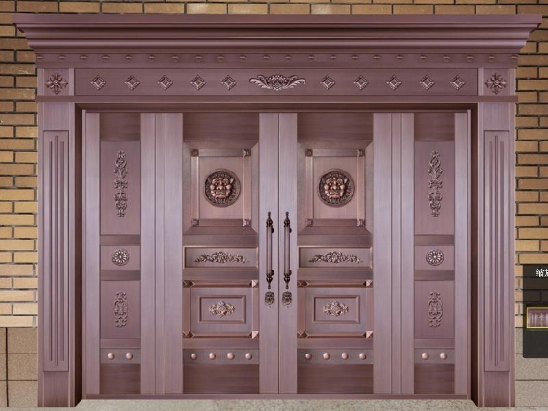 昆明铜门怎么样 昆明铜门的优点 昆明铜门分类