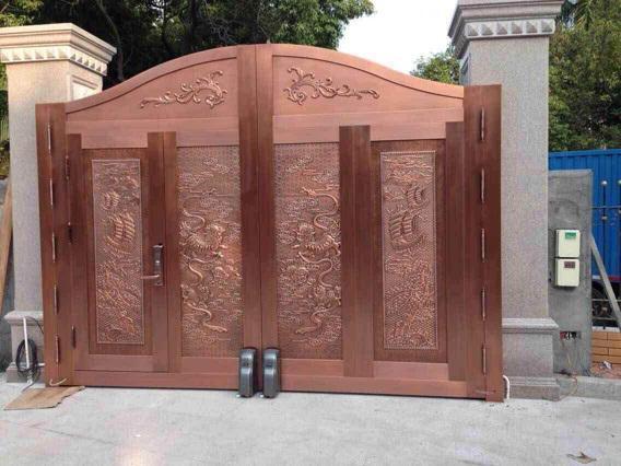 銅門和其他門比較有什么優點呢?