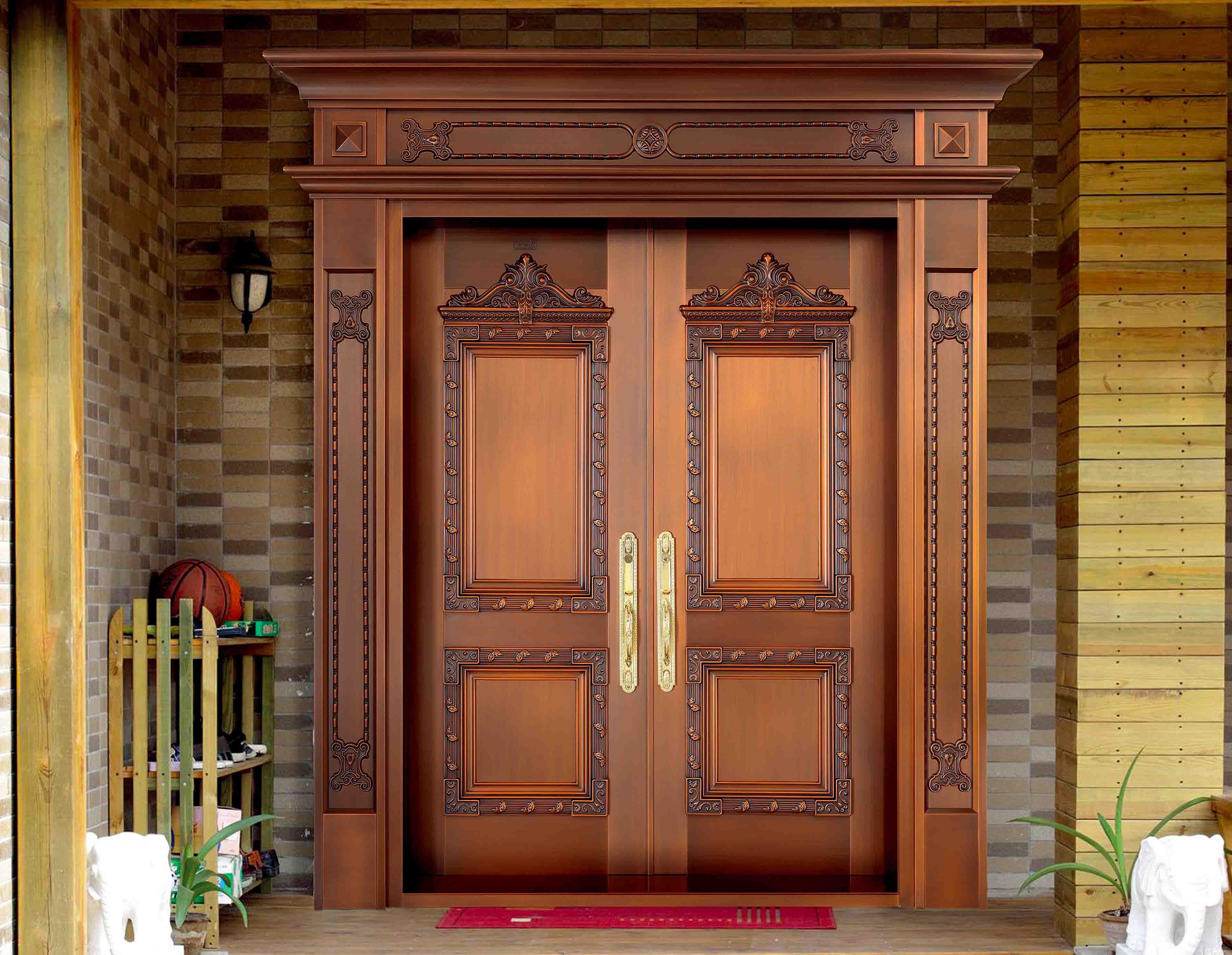 云南銅門來為您解答,雙開門銅門的心臟有哪些注意要素