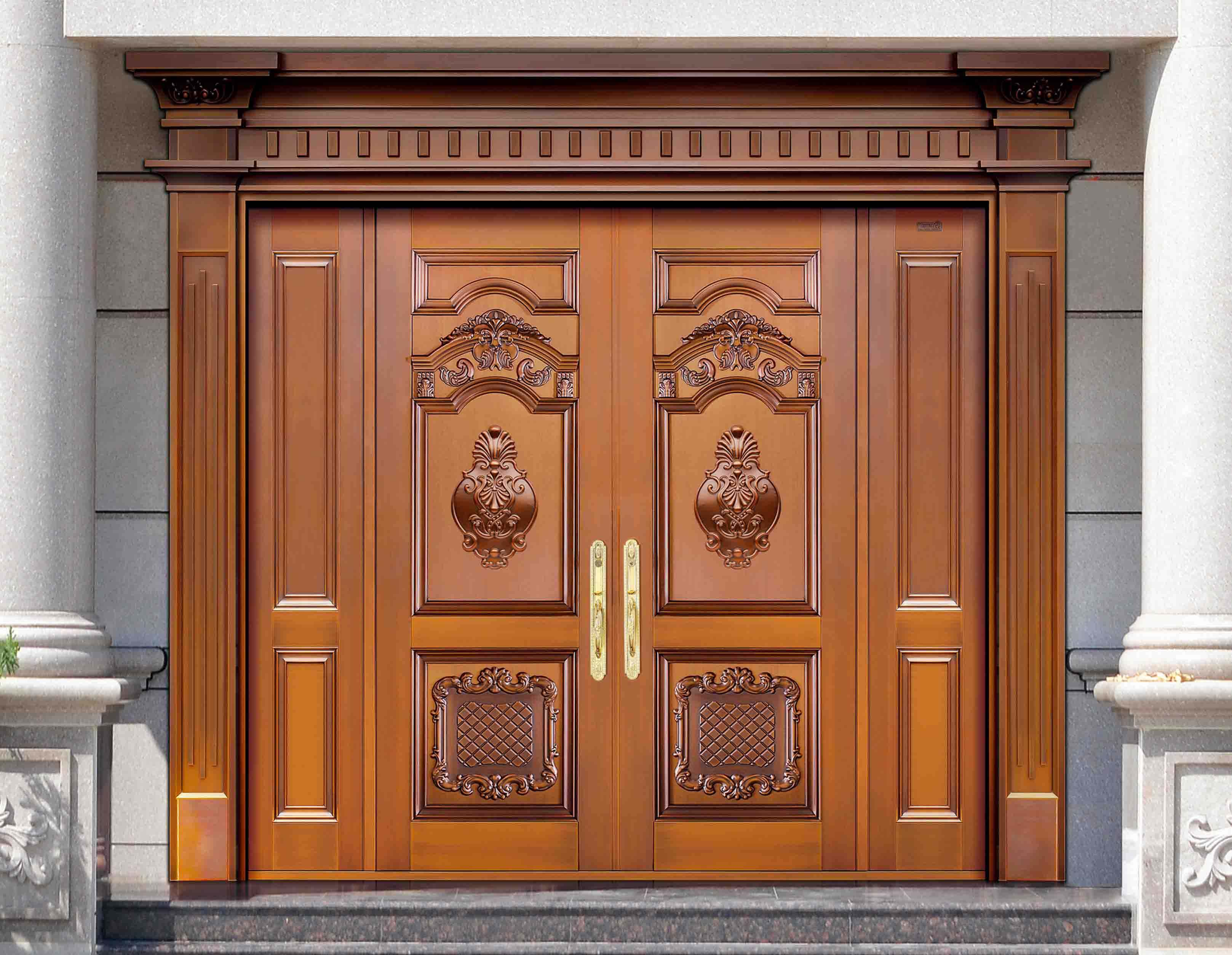云南别墅铜门主要有哪些特点和优势