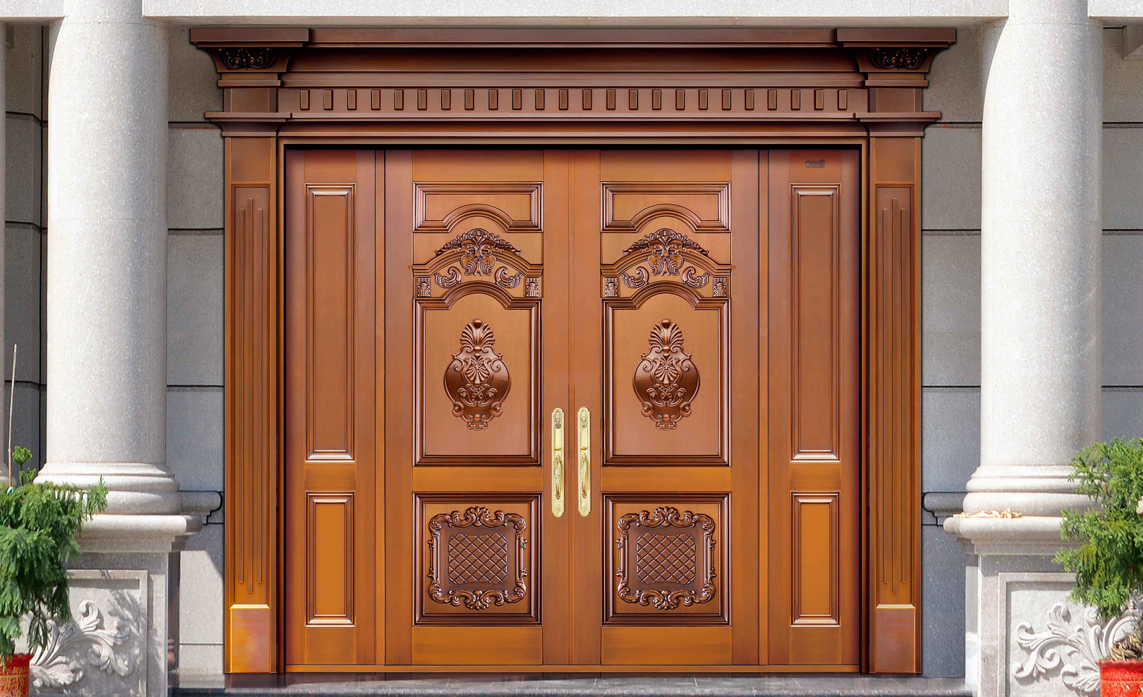 云南铜门小编告诉你铜门和普通门相比有哪些优势