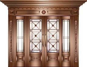 新房装修时如何选购铜门?