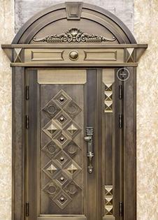 铜门定制厂分享除去铜门上铜绿的小窍门!昆明安胜门业告诉你