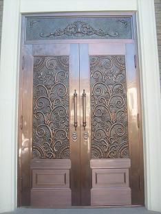 铜门定制厂如何把控好铜门的质量以及购买技巧?