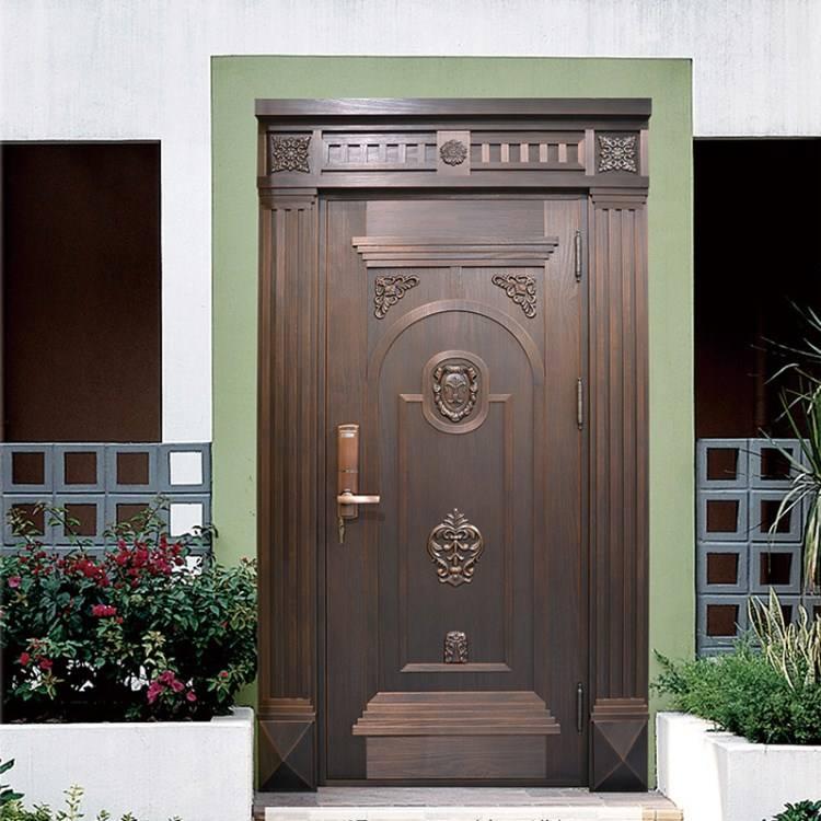 昆明入户铜门挑选法则,只有安全还不够 