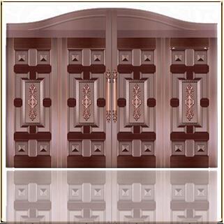 昆明安胜门业铜门的制作工艺您了解吗?