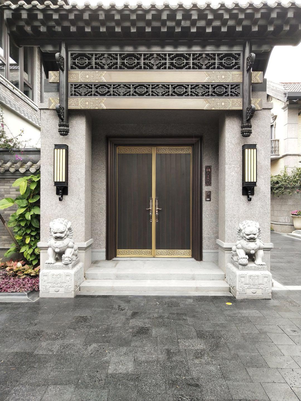 别墅铜门的安全性能、保养记忆注意事项!